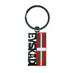 Porte clé drapeau basque