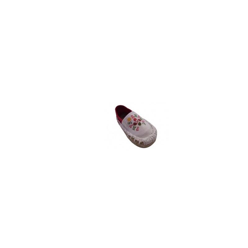 Une mini espadrille magnet