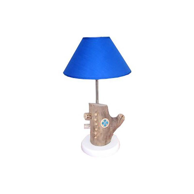 Lampe décoration basque