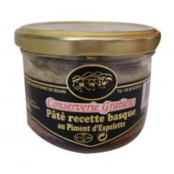 Pâté piquant au piment d'Espelette