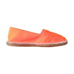Espadrilles orange fluo