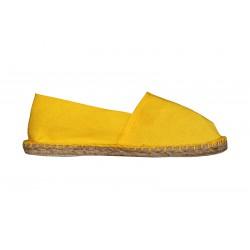 Espadrilles jaune soleil